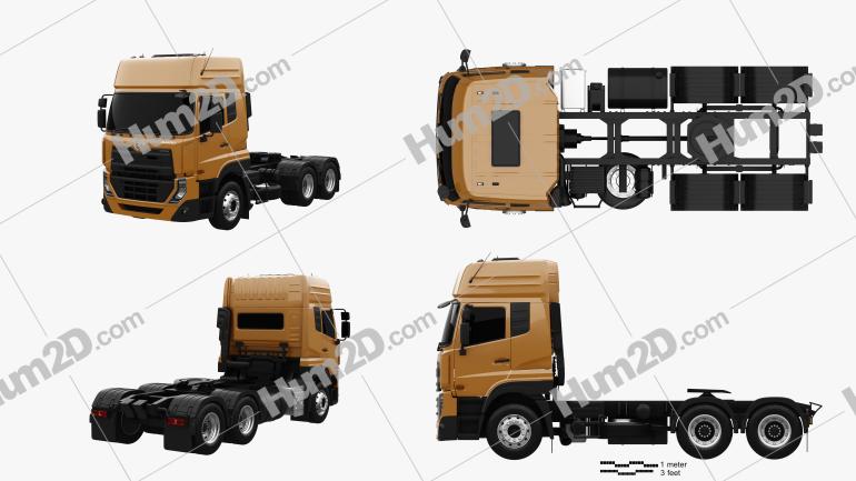 UD Trucks Quester Tractor Truck 2013