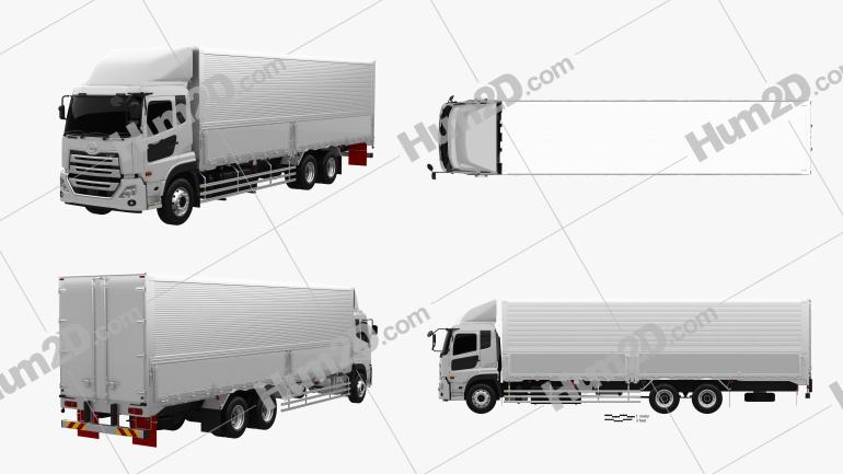 UD Trucks Quon GW Quester Box Truck 2019