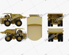 Unit Rig MT5300D AC Dump Truck 2012