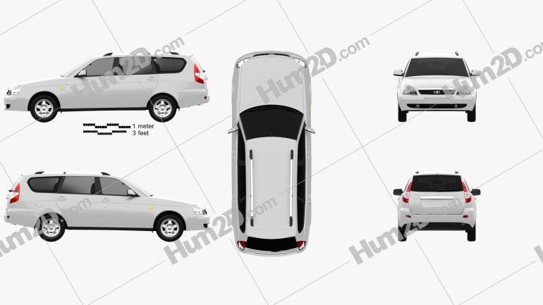 Lada Priora 2171 wagon 2012