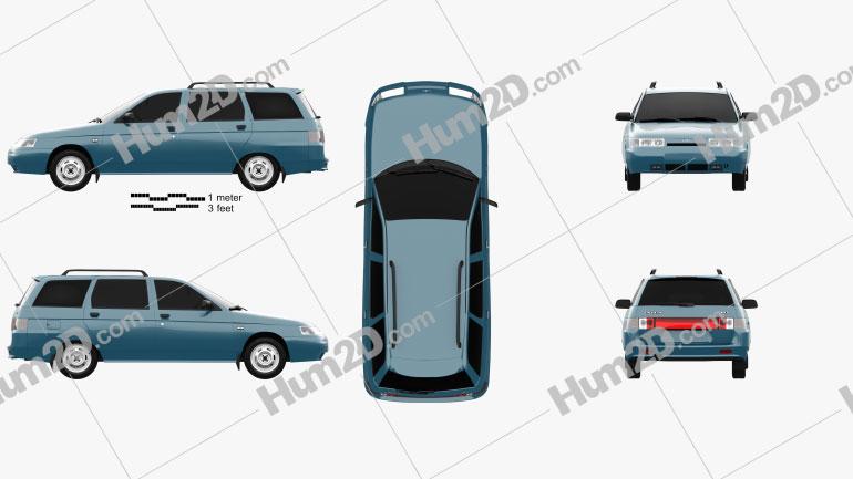 VAZ Lada 2111 wagon 1995