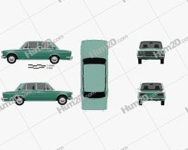 VAZ Lada 2103 1972 Clipart