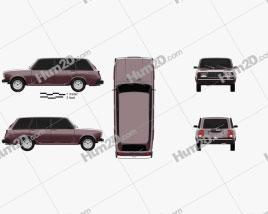 VAZ Lada 21041 2006 car clipart