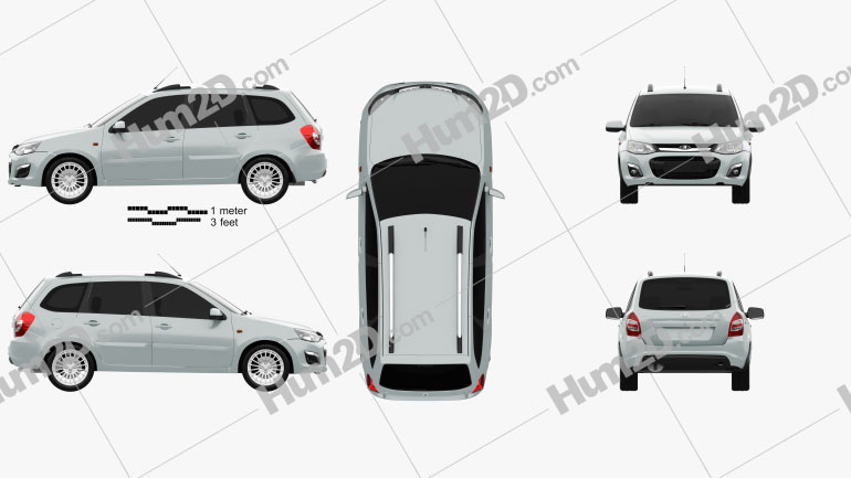 VAZ Lada Kalina (2194) Wagon 2014