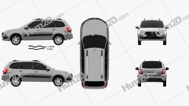 VAZ Lada Granta wagon 2018