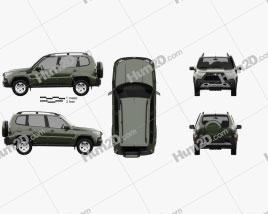 VAZ Lada Niva Travel 2021 car clipart