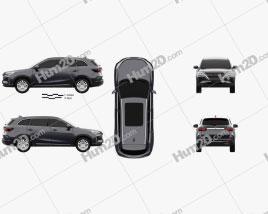 VGV TX7 2020 car clipart