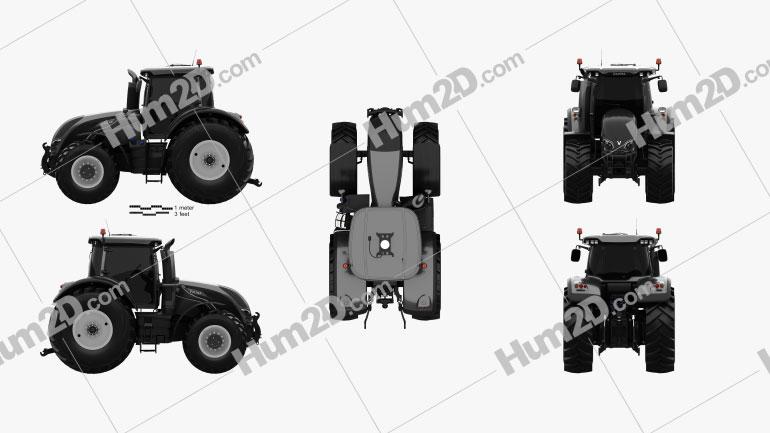 Valtra Serie S Traktor 2019 Traktor clipart