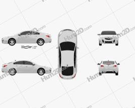 Vauxhall Insignia VXR hatchback 2012 car clipart