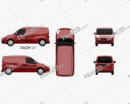 Vauxhall Combo Panel Van L2H1 2012 clipart