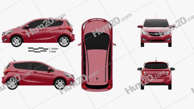 Vauxhall Viva 2015 car clipart