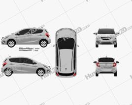 Vauxhall Viva SE 2015 car clipart