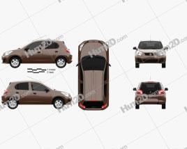Venucia R30 2014 car clipart