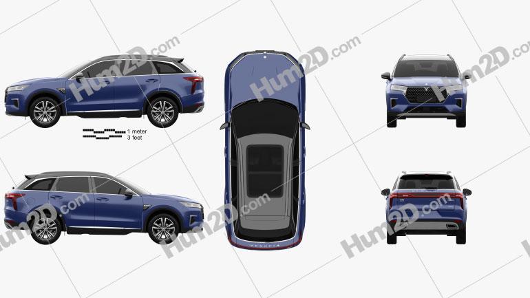 Venucia Star 2020 car clipart