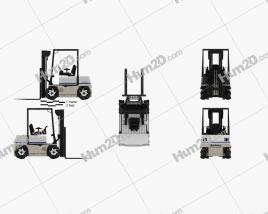 Vetex Sidewinder ATX 3000 Forklift 2011