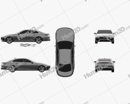 VinFast LUX A2.0 2018 car clipart
