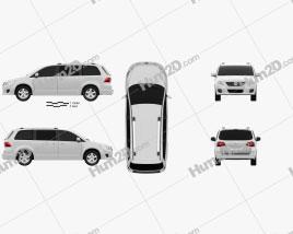 Volkswagen Routan 2012 Clipart