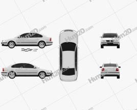 Volkswagen Passat B5 sedan 1997