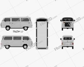Volkswagen Kombi (T2) 2012 clipart