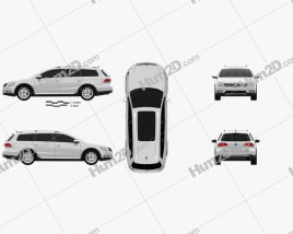 Volkswagen Passat (B7) Alltrack 2011