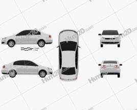 Volkswagen Polo Vivo sedan 2010
