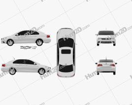Volkswagen Jetta (CN) 2013 car clipart