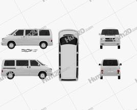 Volkswagen Transporter (T4) Caravelle 1996