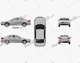 Volkswagen Bora (CN) 2012 car clipart