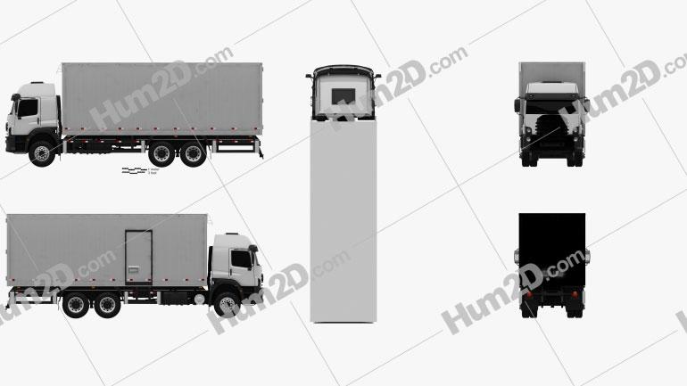 Volkswagen Constellation Box Truck 2011
