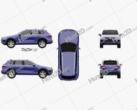 Volkswagen Touareg 2015 car clipart