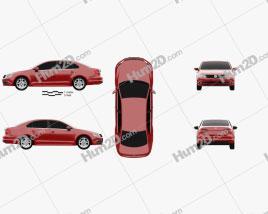 Volkswagen Jetta 2015 Clipart