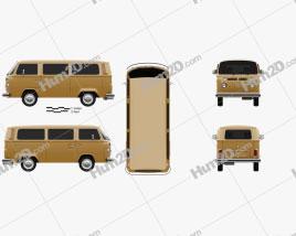 Volkswagen Transporter (T2) Passenger Van 1972