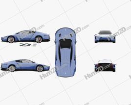 Volkswagen XL Sport 2014 car clipart