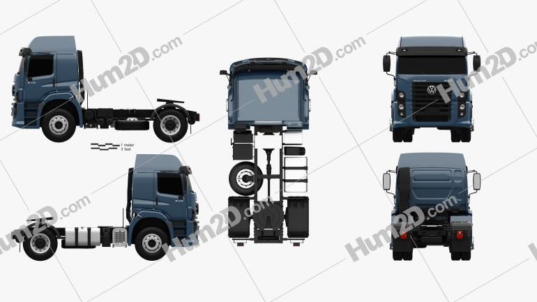 Volkswagen Constellation (19-390) Tractor Truck 2-axle 2011