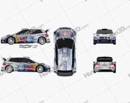 Volkswagen Polo R WRC Racecar 2015