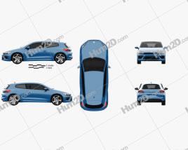 Volkswagen Scirocco R 2015