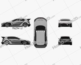 Volkswagen GTI Supersport Vision Gran Turismo 2014