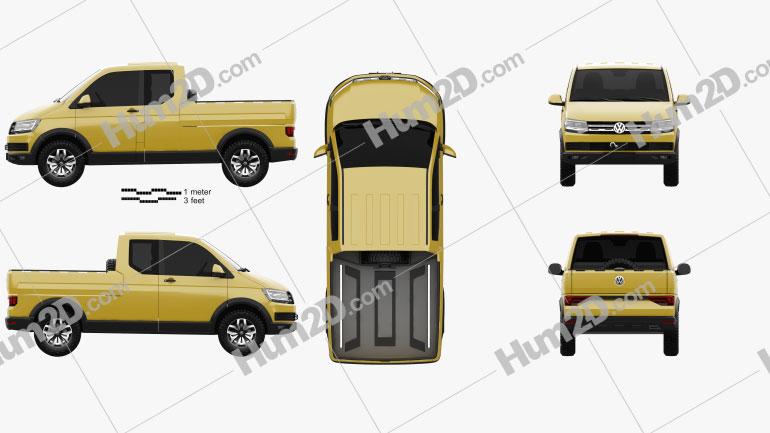Volkswagen Tristar 2015 car clipart