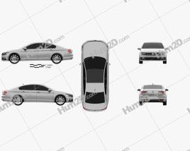 Volkswagen Passat R-line (B8) sedan 2015
