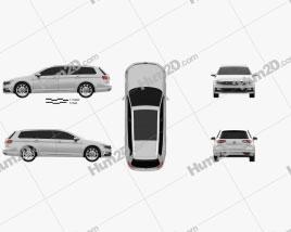 Volkswagen Passat (B8) variant R-Line 2015