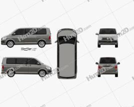 Volkswagen Transporter (T6) Multivan 2016