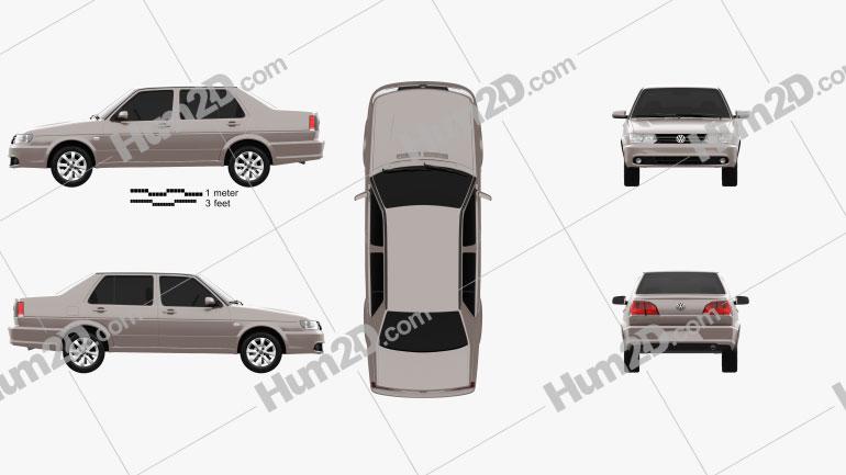 Volkswagen Jetta (CN) 2010 car clipart
