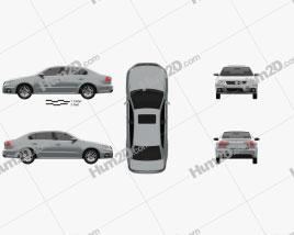 Volkswagen Lavida Sport 2013 Clipart