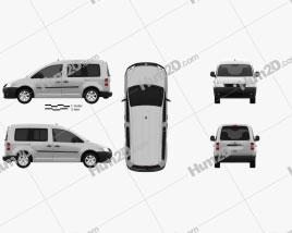 Volkswagen Caddy 2004 clipart