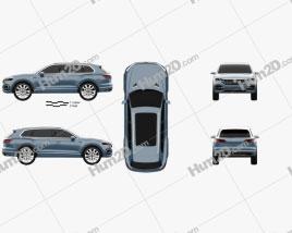 Volkswagen T-Prime GTE 2016 Clipart