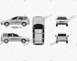 Volkswagen Polo Variant 1997