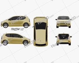 Volkswagen Up Style 3-door 2017