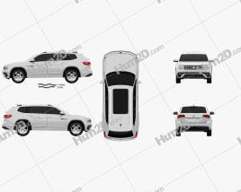 Volkswagen Atlas R-Line 2017 car clipart
