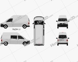 Volkswagen Transporter (T6) Panel Van High Roof 2016