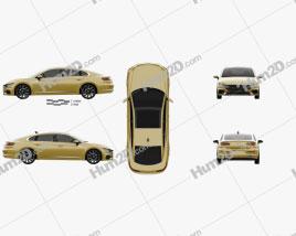 Volkswagen Arteon R-Line 2017 Clipart
